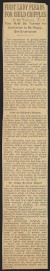 Thumbnail of Article from The New York Times about Eleanor Roosevelt's plea fo...