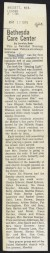 "Thumbnail of Article from the Bassett Leader - ""Helen Keller"" film screened fo..."