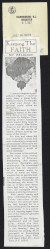 Thumbnail of Article from the Harrisburg Register about Helen Keller's faith a...