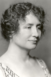 portrait of Helen Keller