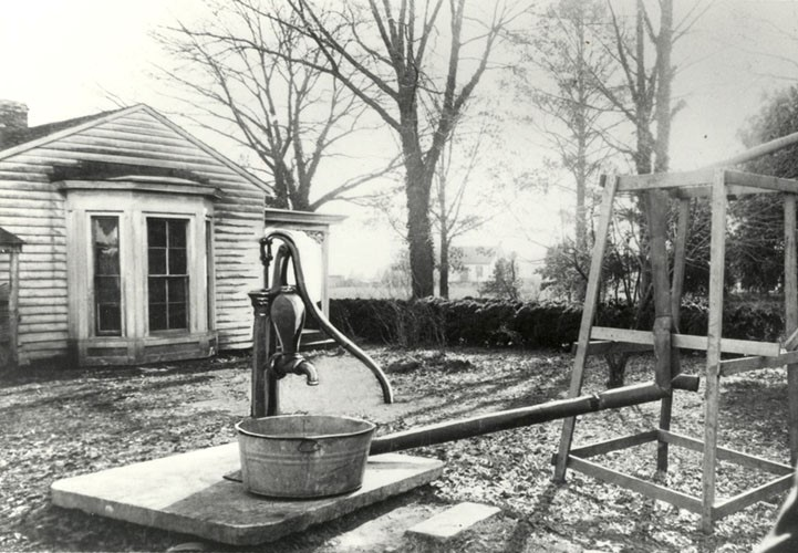 The water pump where Helen made her miraculous breakthrough