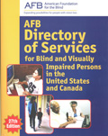 print cover of the AFB Directory of Services for Blind and Visually Impaired Persons in the United States and Canada