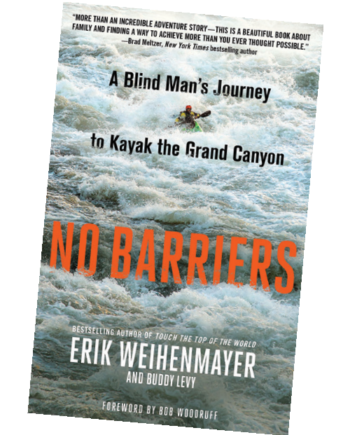 No Barriers book cover