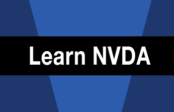 Learn NVDA | American Foundation for the Blind
