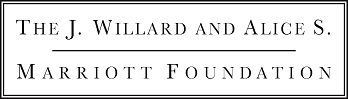 The J. Willard and Alice S. Marriott Foundation Logo