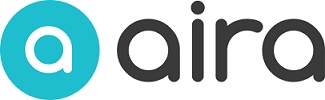 Aira logo showing eye and word Aira