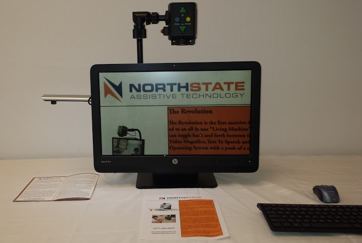 Photo of the Revolution 22-inch All-in-One Magnifier and Tablet