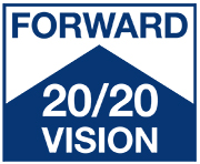 Forward 20/20 Vision: the AFB Leadership Conference logo